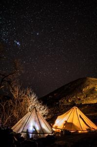 Nacht - Starcamp, Marokko