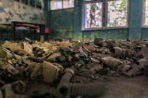 Urbex - Achtergelaten gasmakers, Chernobyl