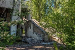 Urbex - De natuur klimt omhoog, Chernobyl