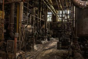 Urbex - Pompstation, UsineS