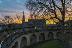 Sunset over Leiden