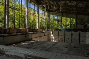 Urbex - Zwembad, Chernobyl
